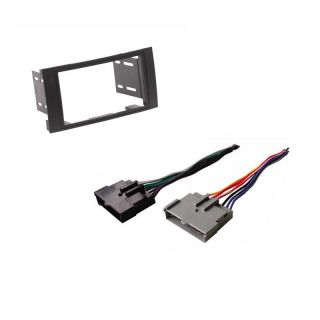Double DIN Dash Radio Stereo Aftermarket Installation Kit Wire Harness Cable