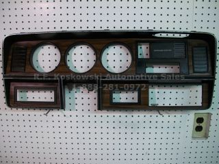 Dodge Pickup Truck Interior Dash Instrument Cluster Speedometer Bezel Trim