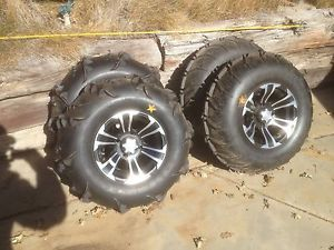 ITP Wheels and Sand Tires for Yamaha Rhino Never Used Lug Nuts Included