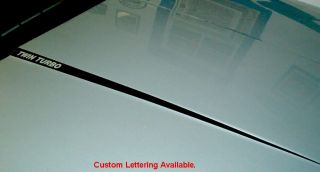 2010 2011 2012 Ford Taurus Sho Hood Decals Stripe 10 11
