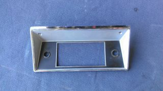1968 Ford F100 Radio Bezel Trim 1969 1970 1971 1972 1973 F250 F350