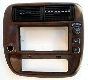 Ford Explorer Ranger B2300 Sport Trac Center Radio Dash Trim Air Vent Wood Bezel