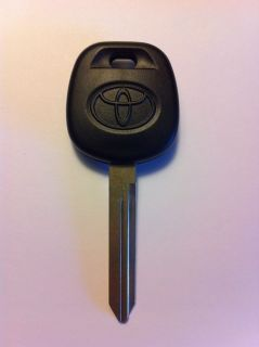 New Toyota Transponder Key Blank Ignition Chip ID 4c Camry Avalon Sienna Etc