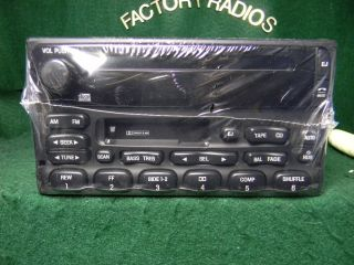 Ford Explorer Expedition F150 Premium CD Tape RDS Radio Sub F87F 18C868 AC New