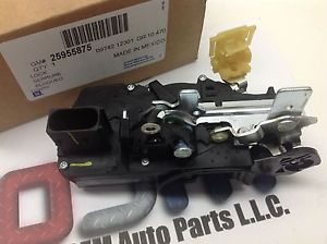 2004 2008 Pontiac Grand Prix LH Front Door Latch Lock Actuator 25955875