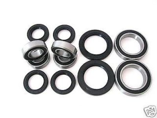 All Wheel and Axle Bearings Seals Kit Yamaha Raptor 660 YFM660R 2001 2002 2003