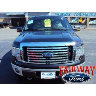 09 10 11 12 F 150 F150 Genuine Ford Parts Chrome Billet Grille w Emblem New