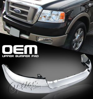 2004 2008 Ford F150 Pickup Truck Front Chrome Sport Upper Bumper Pad Cover F 150