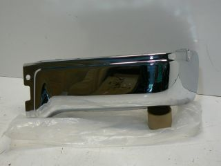 New 09 10 11 12 Ford F 150 F150 Chrome Rear Bumper End Right RH Passenger