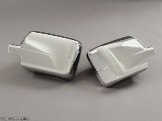 2004 2008 Ford F150 Chrome Door Mirror Cover Set Pair Full Cover F 150