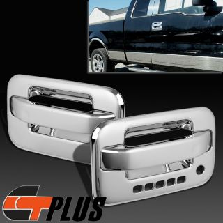 04 2012 Ford F150 Pickup Truck Mirror Chrome Side Door Handle Cover Trim Set 2dr