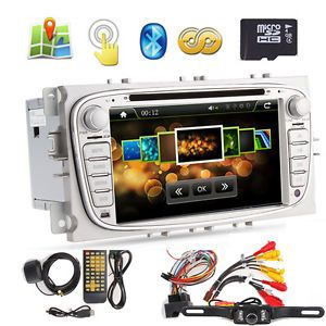 "Ford Focus s Max Mondeo 2 DIN 7"" in Car DVD Player GPS Bluetooth Stereo"