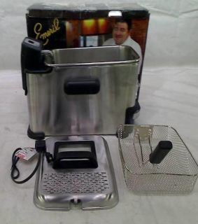 Emeril by T Fal FR7015001 Stainless Steel Digital Immersion Deep Fryer