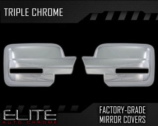 09 13 Ford F150 Full Chrome Mirror Covers