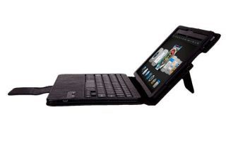 Detachable Bluetooth Keyboard w Leather Case for  Kindle Fire HDX 8 9