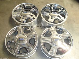 "17"" Ford Expedition F 150 Chrome Wheels Rims Factory Limited 04 05 06 F150"