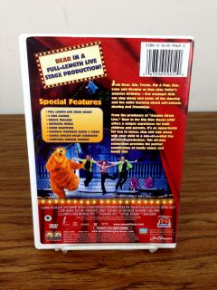 Bear in The Big Blue House Live DVD