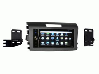 Honda CR V 2012 Up CD DVD Bluetooth GPS Navigation Android Radio with Dash Kit
