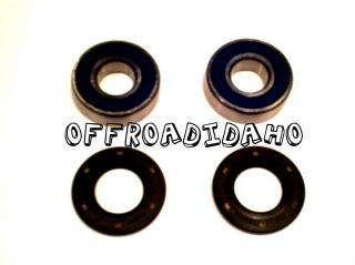 Front Wheel Axle Bearings Kit Kawasaki KX500 85 86 87 88 89 90 91 92 93 KX 500