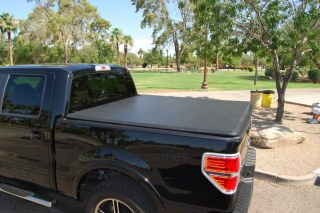 Ford F 150 5 5ft Short Bed Tri Fold Tonneau Cover 2009 2012 Truck Bed Cover