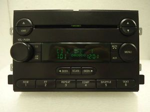 Ford F150 F 150 Truck Fusion Mustang Radio Aux 6 CD Player 4L3T18C815AL 04 05 06
