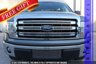 2013 Ford F150 Lariat 5pc Combo Billet Grille Chrome Kit King Ranch F 150