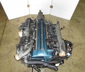 JDM Toyota Aristo Supra 2jz GTE vvti Engine Twin Turbo Lexus GS300 JZA80 Motor