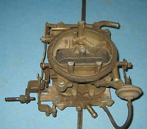 Used 2 Barrell Holley Carburetor Ford Chevy Rat Rod Selling as Is Parts Repair