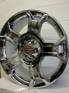 22 inch Chrome Ford F150 Harley Davidson Edition Factory OE Wheels Rims 6x135