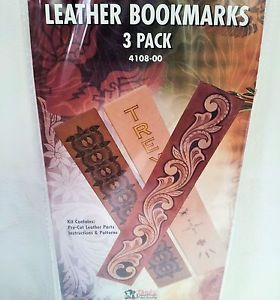 "3 Pack of 1 1 2"" x 8"" Book Mark Marker Kit 4108 00 Tandy Leather Markers Marks"