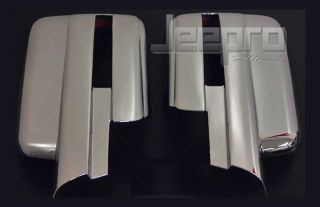 09 13 Ford F150 Chrome Mirror Cover with Signal Cutout