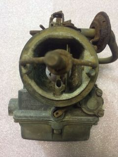 Old Holley Single Barrel Carburetor Carb