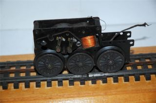 Lionel Post War 675 Steam Engine Motor Runs Very Smoothly