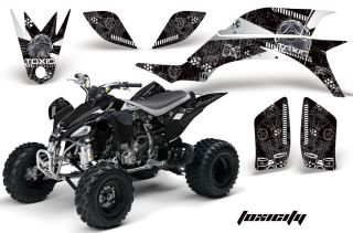 AMR Racing ATV Graphic Off Road Decal Quad Sticker Kit Yamaha YFZ 450 04 08 TWK