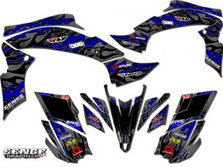 Warrior 350 WARRIOR350 Yamaha Graphics Kit Deco Stickers ATV Quad Four Wheeler