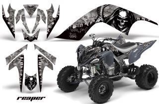 AMR Racing Graphic Wrap Off Road Deco ATV Sticker Kit Yamaha Raptor 700 Reaper S