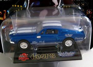 The Doors Jim Morrison Blue Lady 68 Ford Shelby Mustang Die Cast Car
