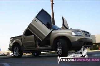 Ford Explorer Sport Trac Bolt on Lambo Vertical Doors Kit 01 02 03 04 05