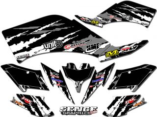 Raptor 700 RAPTOR700 Yamaha Graphics Kit Deco Stickers ATV Quad 4 Wheeler Four