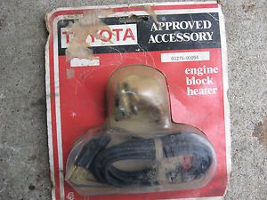 Toyota Corolla Engine Block Heater Toyota Approved Accessory 67 on 4 CLY