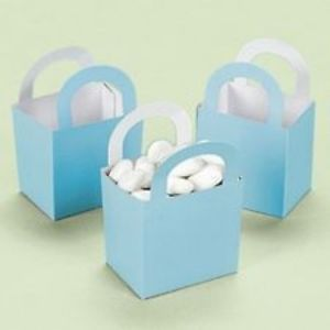 12 Baby Shower Boy Blue Basket Baskets Boxes Party Favors Games Toys Gifts