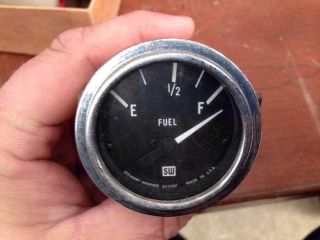 Stewart Warner 833107 Fuel Gauge Rat Rod Hot Rod