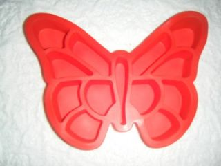 Butterfly Pull Apart Muffin Cupcake Silicone Cake Pan or Jello Mold VGC Moth