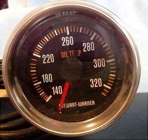 Stewart Warner Stock 82880 36 Mechanical Oil Temperature Gauge