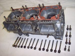 96 Polaris 680 Ultra SP SKS RMK XCR Triple Motor Engine Crank Case Crankcase