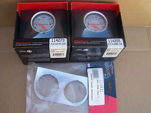 Stewart Warner Performance Electrical Water Temp Gauge and Oil Temp Gauge
