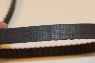 Ducati Monster 696 2009 Engine Motor Drive Belts Belt