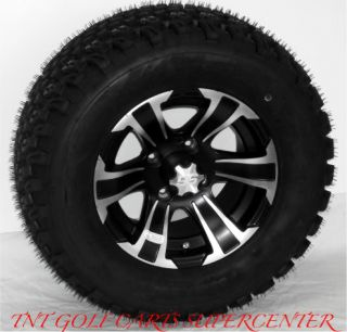 "Golf Cart 12"" ITP SS312 Wheels 23 10 5 12 Tires"