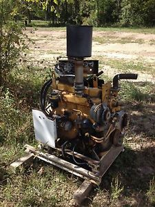 John Deere Diesel Engine TO4039 4 Cylinder from Power Unit