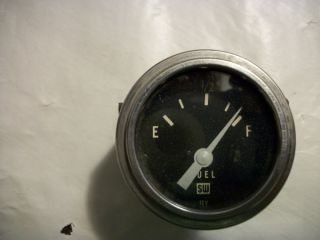 "Vintage Stewart Warner Fuel Gauge 2"" SW Hot Rat Rod 32 Ford Scta"